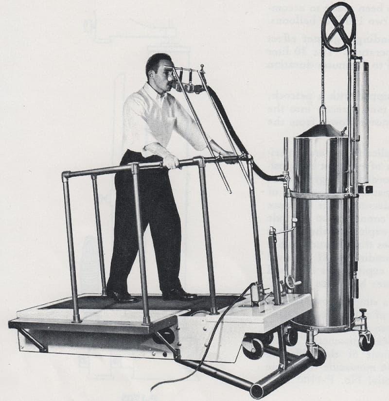 اولین نمونه، تاریخچه دستگاه تردمیل