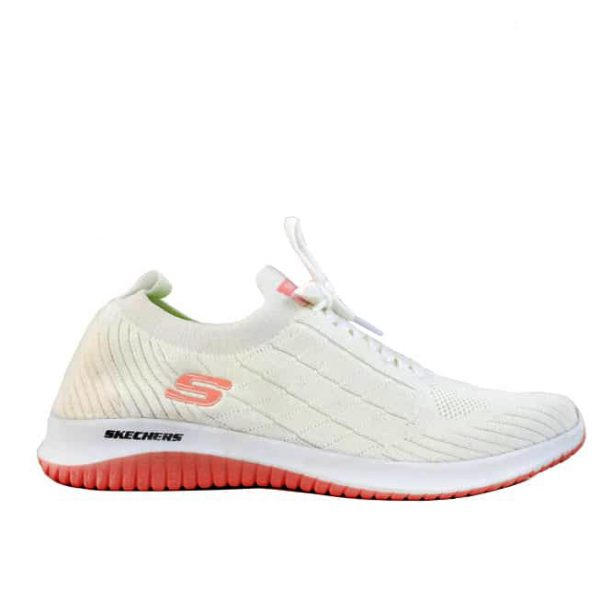 کفش اسکیچرز زنانه فلکس سفید
