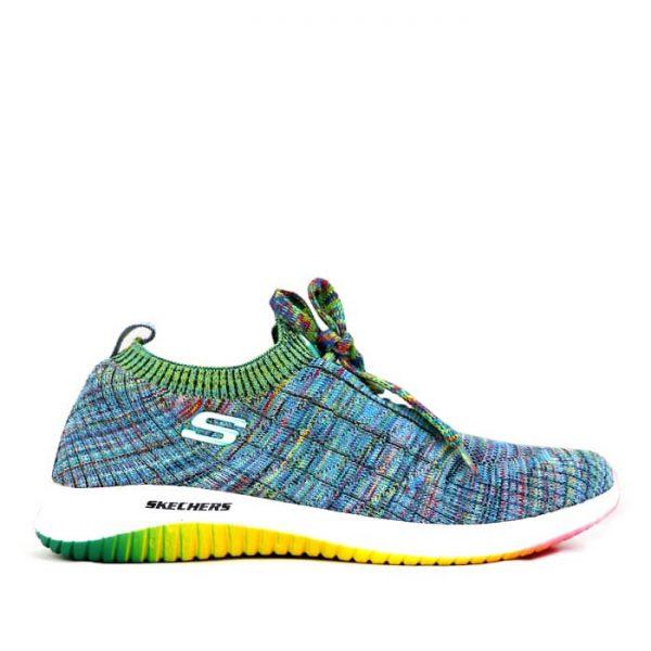 کفش اسکیچرز جورابی زنانه