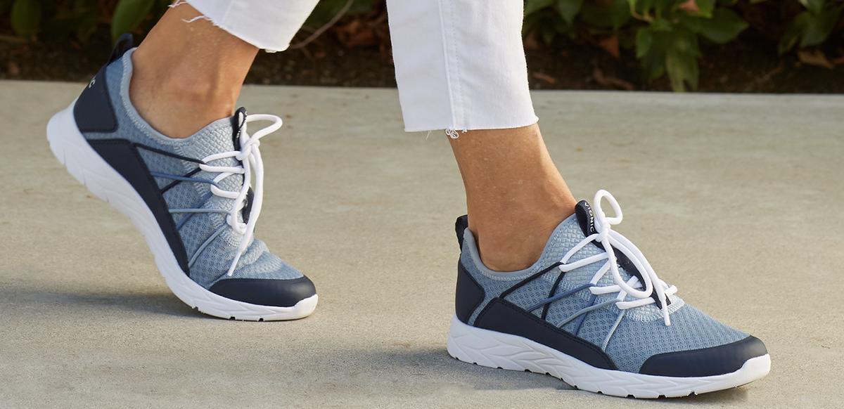الگوی پوششی قابل استفاده برای انتخاب کفش مناسب پیاده روی